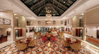 Hotel Kempinski St. Petersburg Lobby