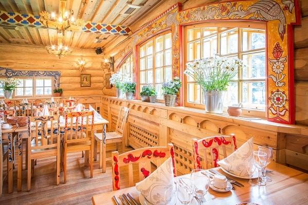 Restaurant Podvorje Pawlowsk Russland