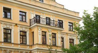 Fassade des Achilles Boutique Hotel St. Petersburg