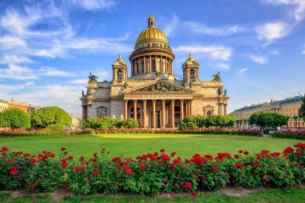 St. Petersburg - Goldene Kuppeln