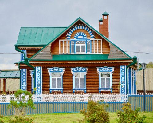 Kasan-Tataren Dorf Groß Bolgar