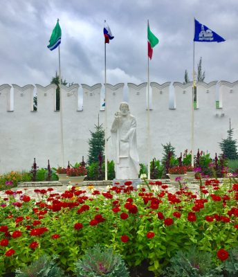Kasan-Mauer vor dem Raifa-Kloster