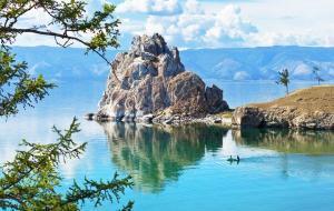 Transsibirische Eisenbahn Reise: Baikalsee