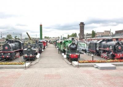 Russisches Eisenbahnmuseum St. Petersburg