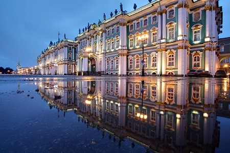 St. Petersburg Weiße Nächte: Eremitage