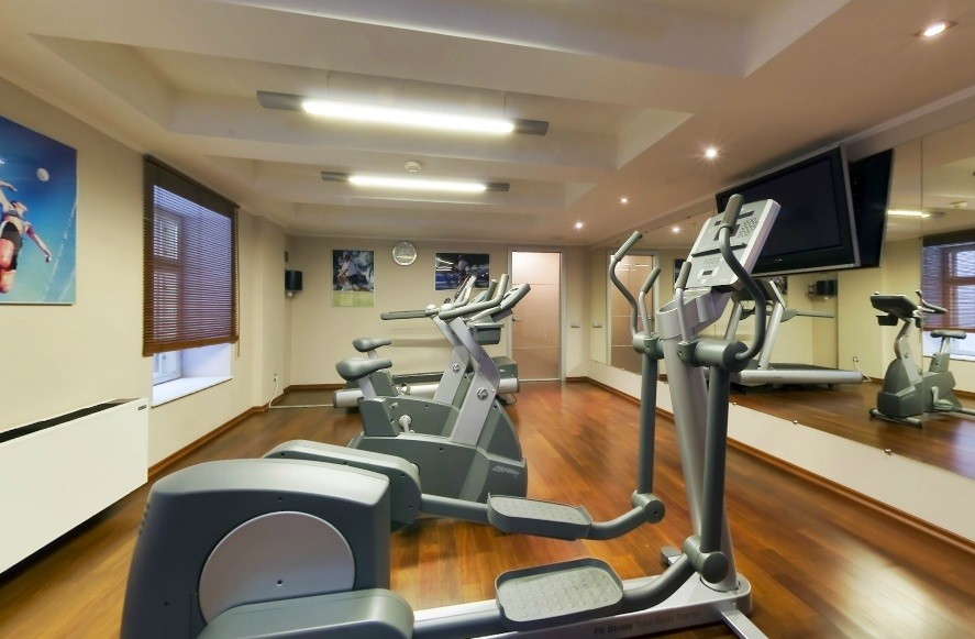 Fitnesscenter Hotel Radisson Royal