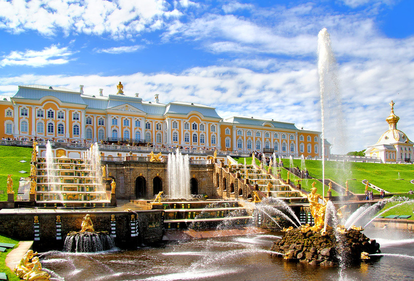 Fontäne in Peterhof