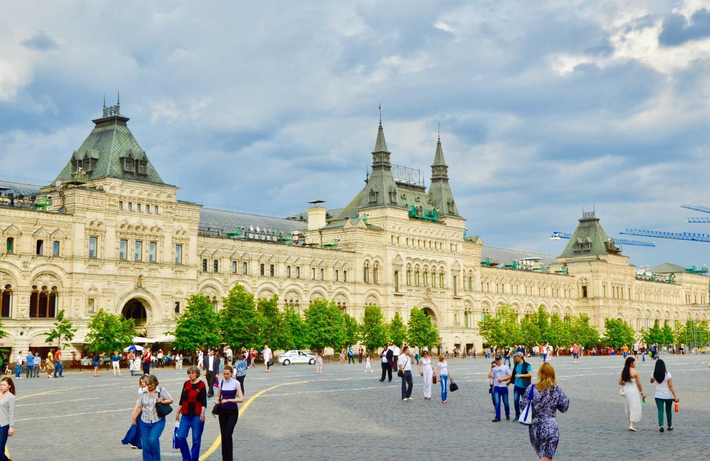 Kaufhaus GUM am Roten Platz, Moskau