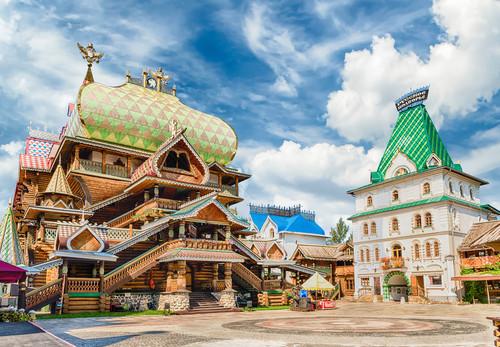 Ismailowo Markt, Moskau