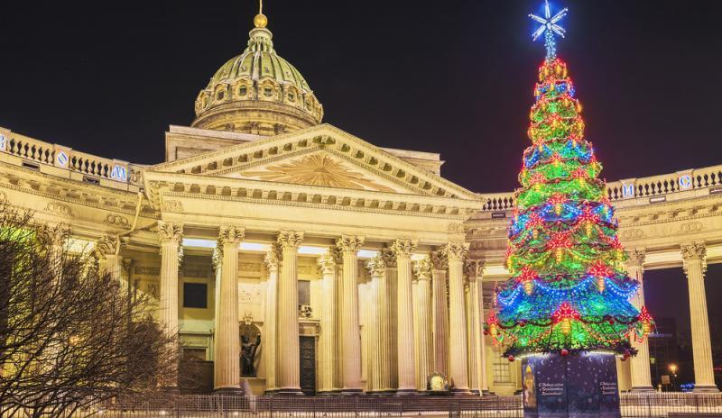 Silvesterreise nach St. Petersburg Kasaner Kathedrale Russland