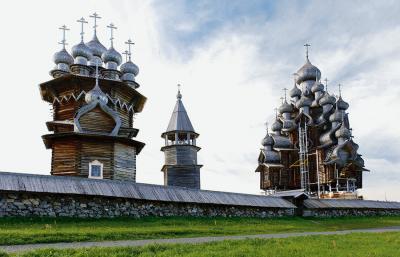 Flusskreuzfahrt Russland Kischi