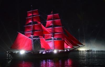 Fest der Roten Segel, St. Petersburg