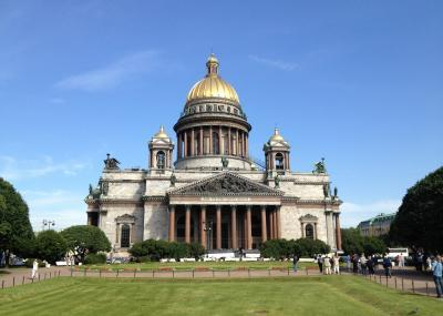 Isaak-Kathedrale in St. Petersburg