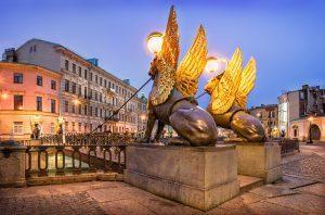 St. Petersburg Weiße Nächte: Bankbrücke