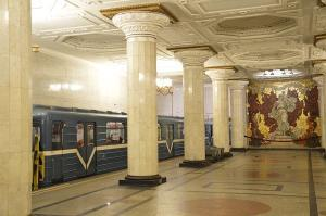 Metrostation, St. Petersburg
