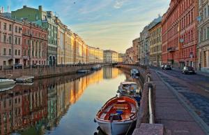 St. Petersburg Kanal, St. Petersburg Weiße Nächte