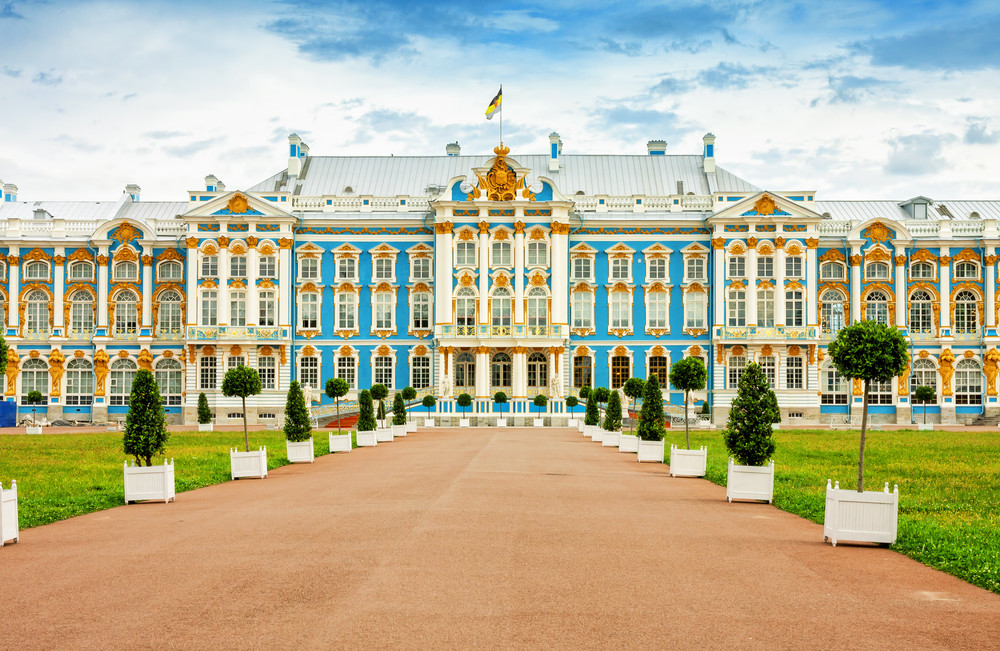 Der Katherinenpalast in St. Petersburg