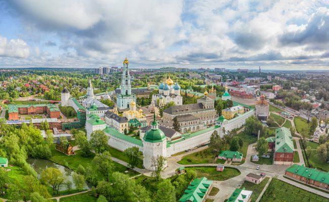 Urlaub in Moskau: Sergijew-Possad