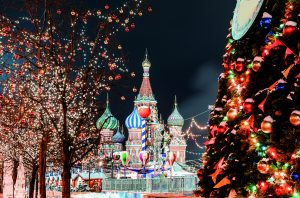 Silvesterurlaub in Moskau, Basilius-Kathedrale