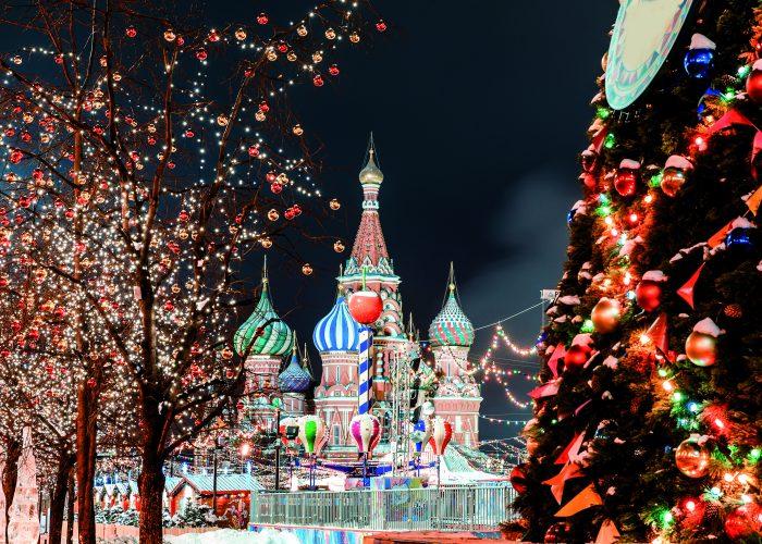 Silvesterreise nach Moskau, Basilius-Kathedrale Moskau