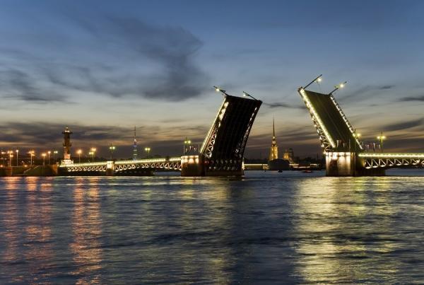 St. Petersburg Schlossbrücke