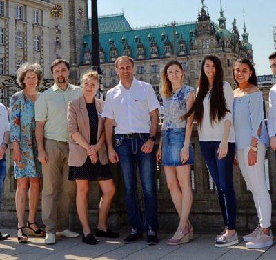 Russland-Reisen: Team