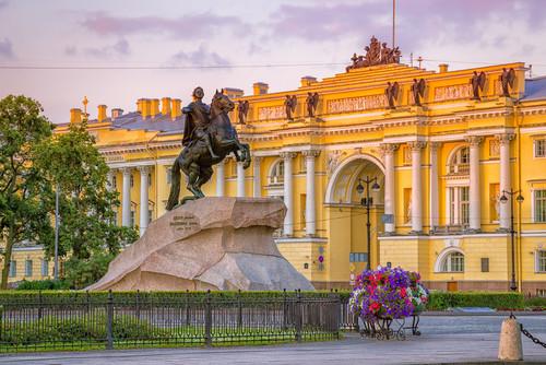 Eherner Reiter - Zar Peter der Große, St. Petersburg