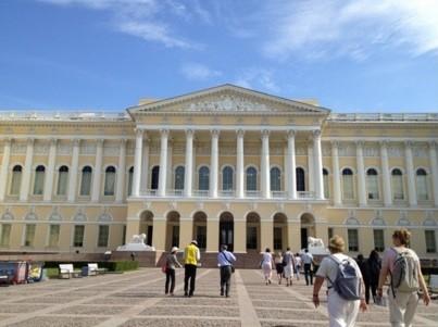 Das Russische Museum in St. Petersburg