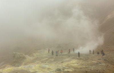 Kamtschatka Krater Mutnowski