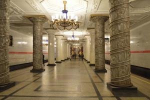 Metro St. Petersburg Reise