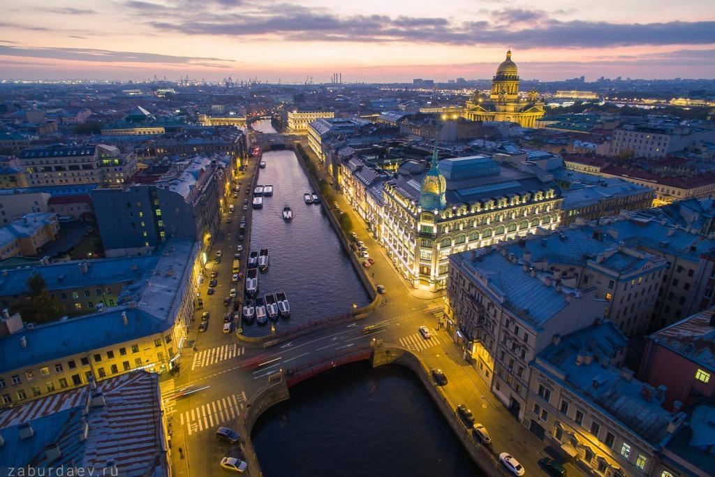 St. Petersburg Weiße Nächte, Reise St. Petersburg