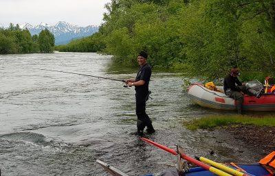 Kamtschatka Rafting und Angeln Russland-Reisen
