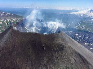 Kamtschatka Vulkan/Krater Russland-Reisen