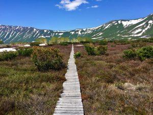 Kamtschatka Berge