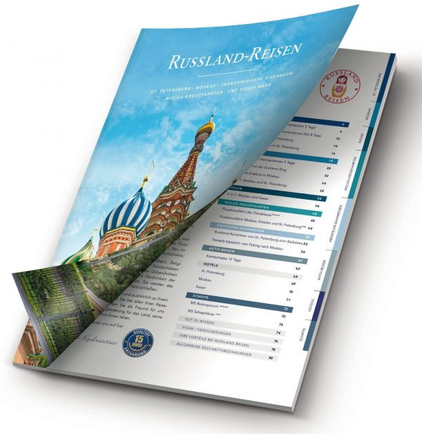 Russland-Reisen Katalog 2019