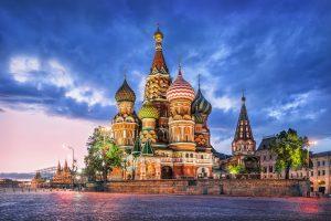 Basilius-Kathedrale in Moskau