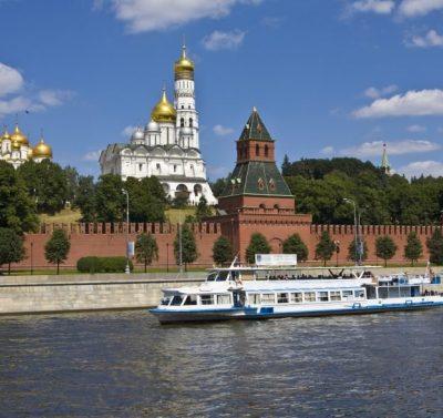 Moskauer Kreml Russland Reisen