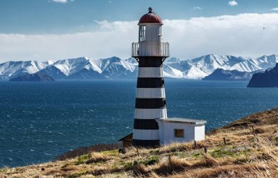 Kamtschatka - Leuchtturm Petropawlowsk