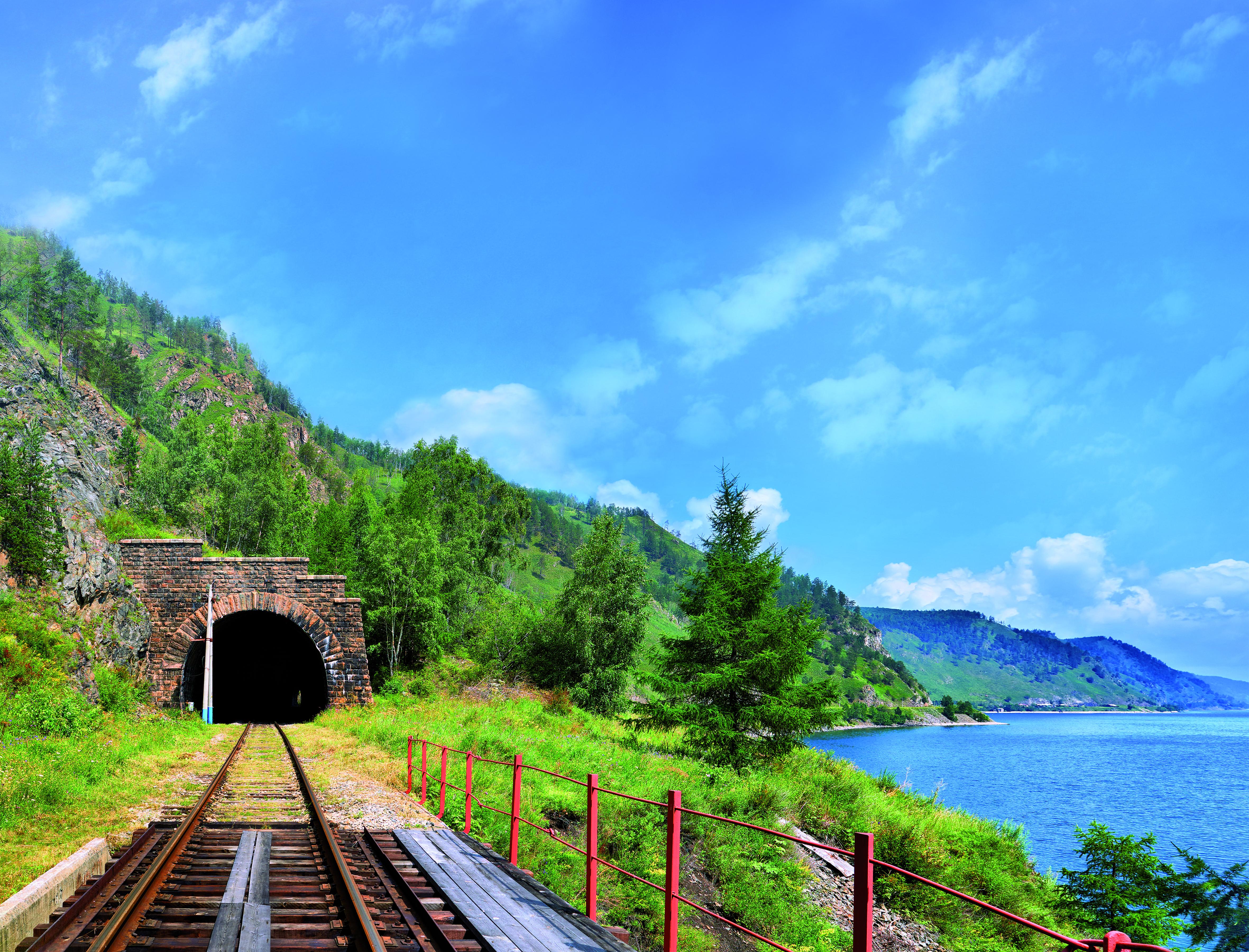 Transsibirische Eisenbahn Baikalsee, Urlaub Irkutsk