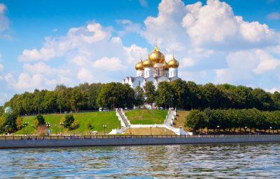 Jaroslawl Wolga Kreuzfahrt Russland Urlaub