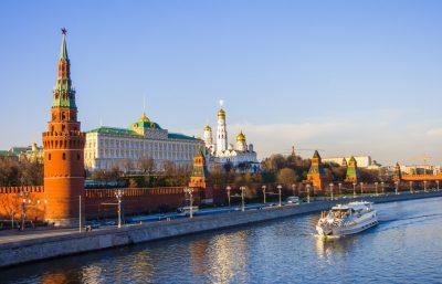 Fluss Moskwa und Kreml