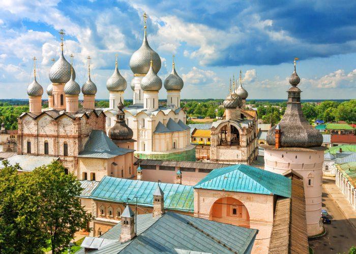 Rostow Kreml Goldener Ring Russland