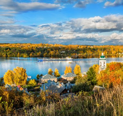 Wolga Flusskreuzfahrt Russland-Reisen