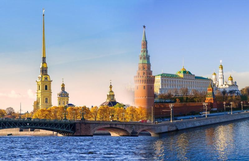 Doppelpack Moskau und St. Petersburg