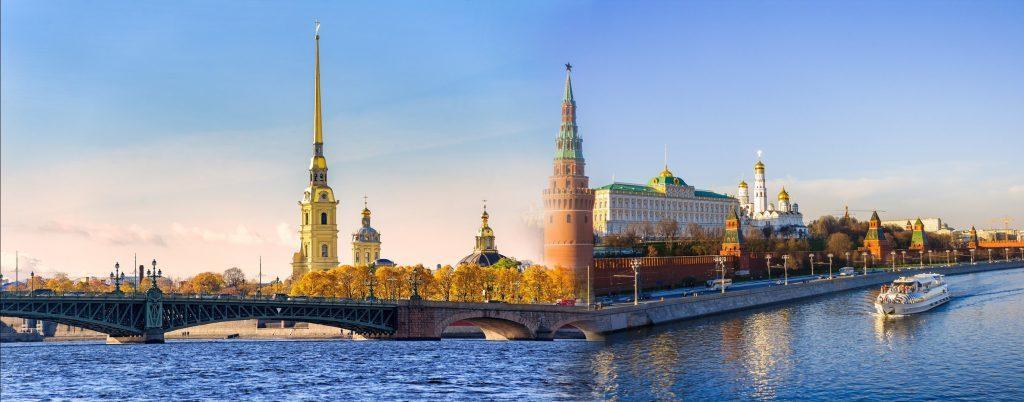 Russland Reisen: St. Petersburg und Moskau