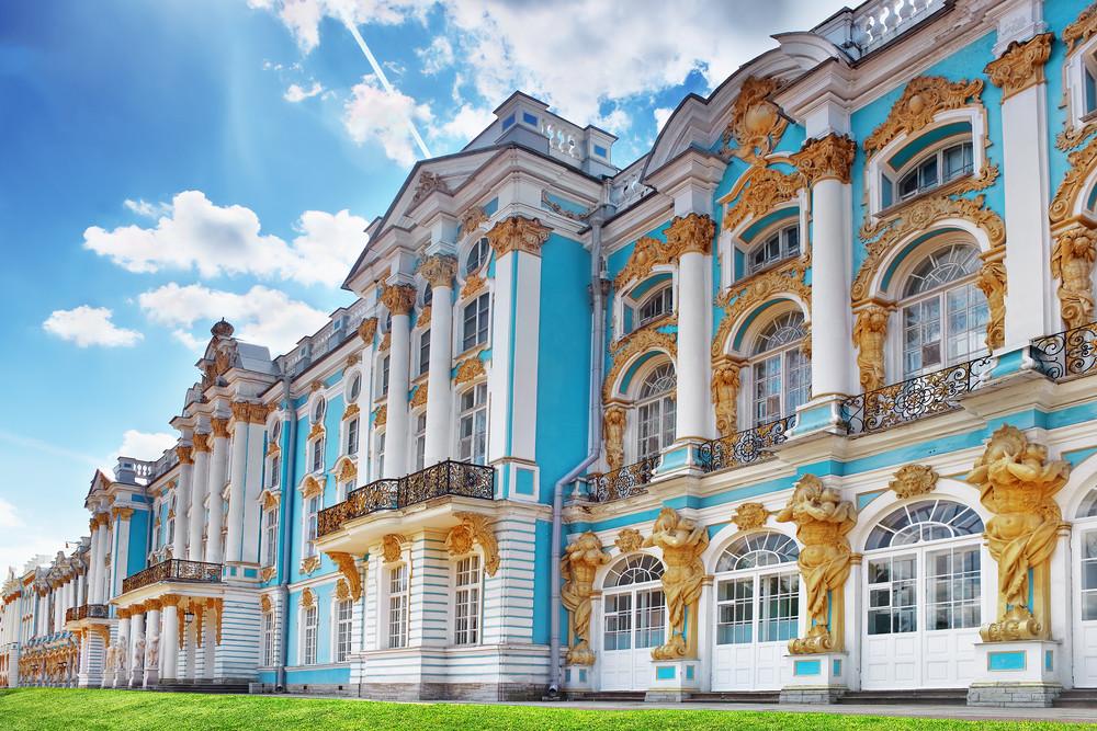 Katharinenpalast im Zarendorf Puschkin
