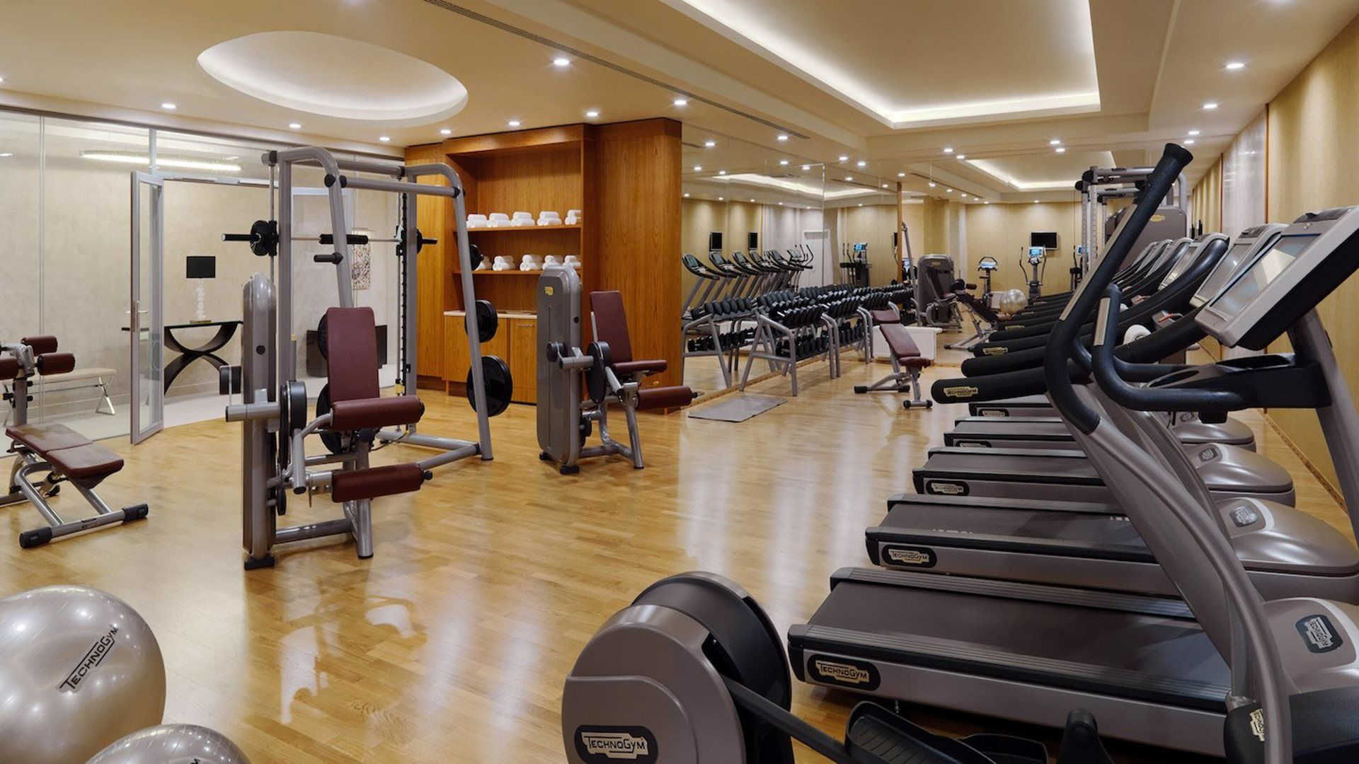 Hotel Marriott Novy Arbat Gym