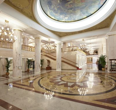 Hotel Radisson Royal Lobby - Moskau