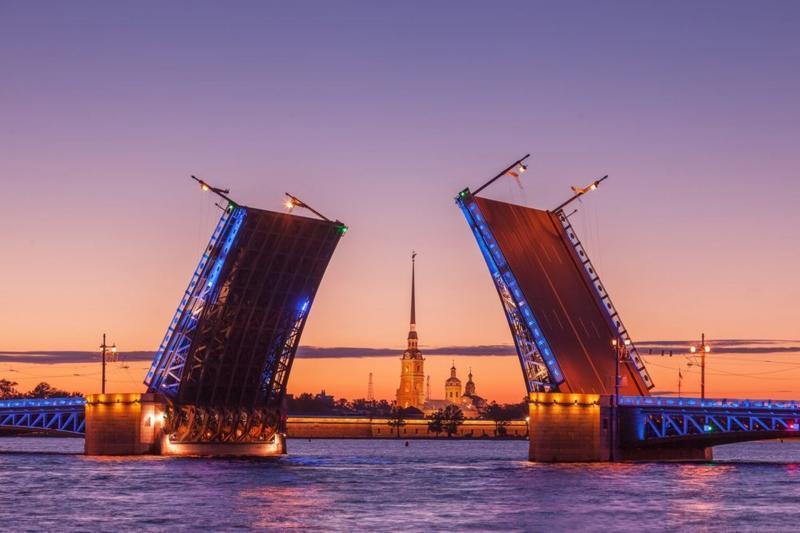 Städtereise Sankt Petersburg, Reise Russland