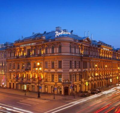 Hotel Radisson Royal Fassade St. Petersburg